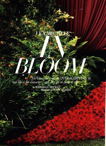 Lea in Harper's Bazaar - September, 2011 Scans