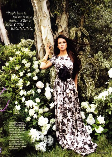Lea in Harper's Bazaar - September, 2011 Scans
