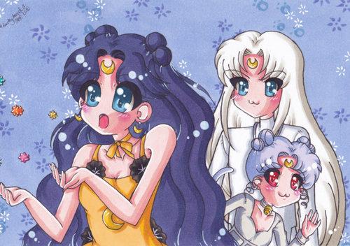 Luna, Artemis and Diana