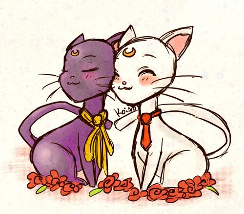 Luna and Artemis