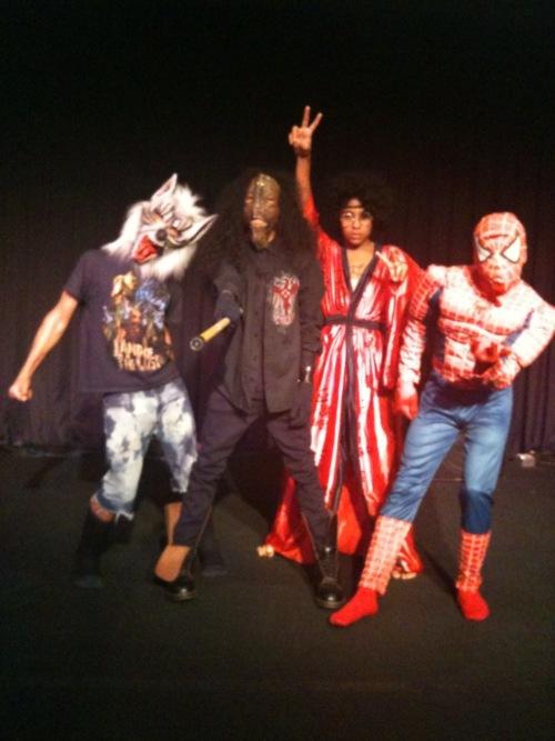 MB at Halloween