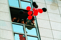 MJ & LMP with balloons - michael-jackson photo