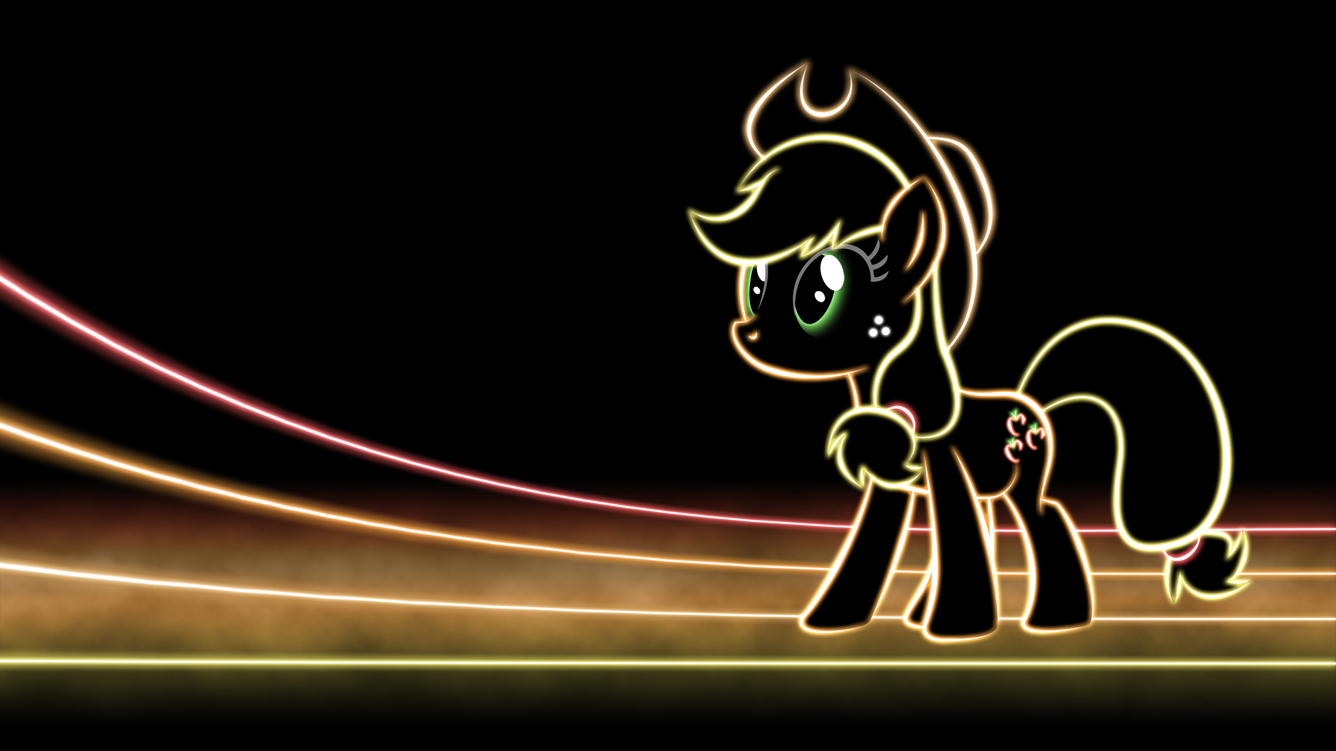 mlp glow wallpapers my little pony friendship is magic