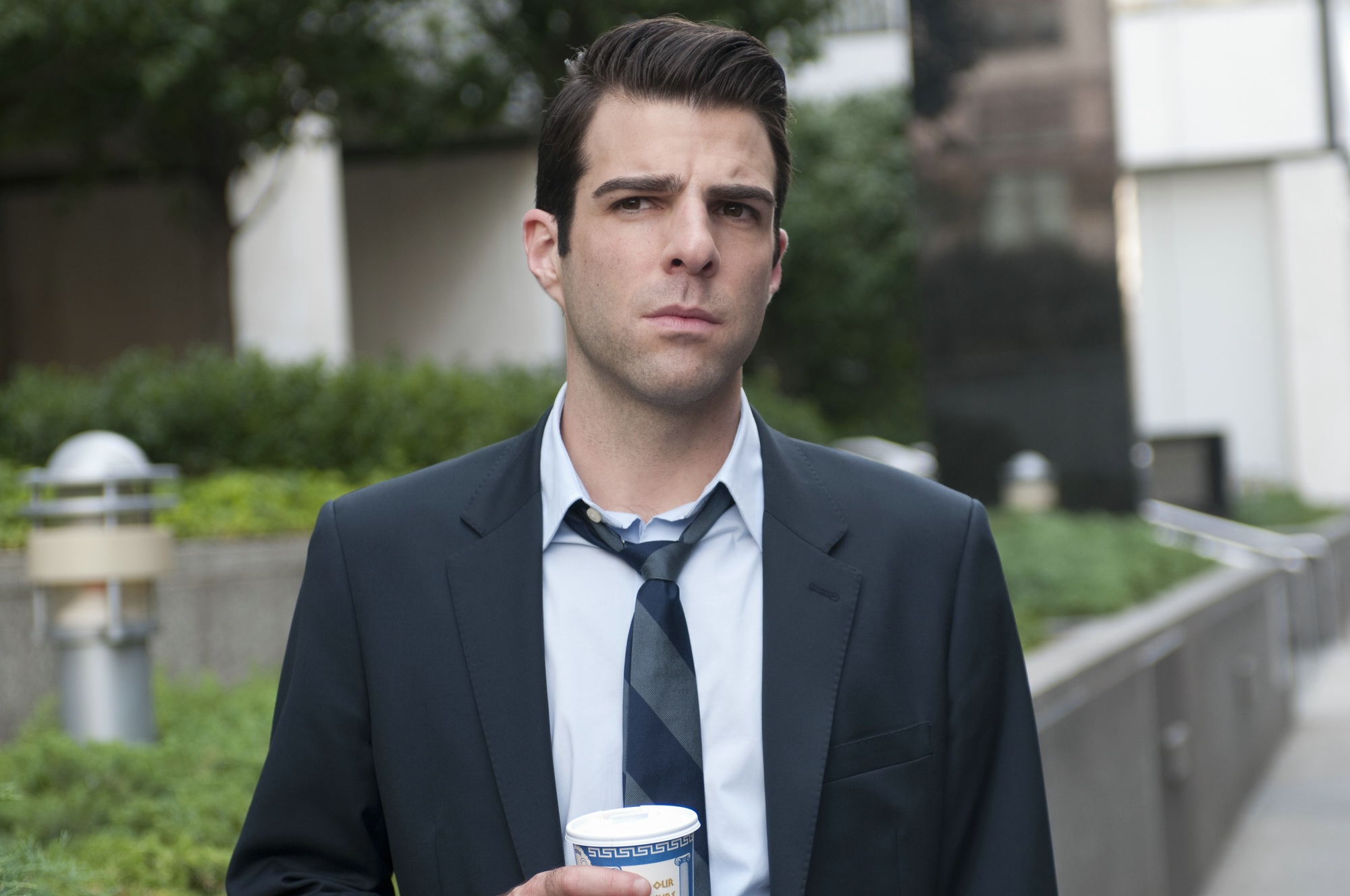 Zachary Quinto - Magazine cover