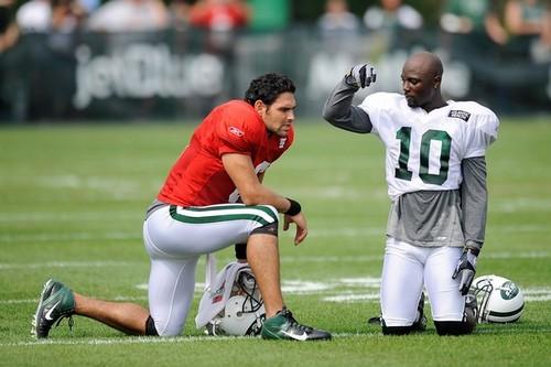 Mark Sanchez - NY Jets Training