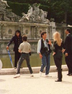 Michael in Italy 1988