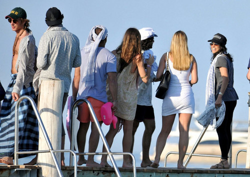 Michelle Rodriguez on a Yacht in Saint Tropez - May 22, 2011