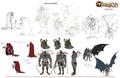 Mumm-Ra Concept art