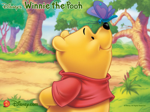 O Ursinho Puff wallpaper titled My Pooh