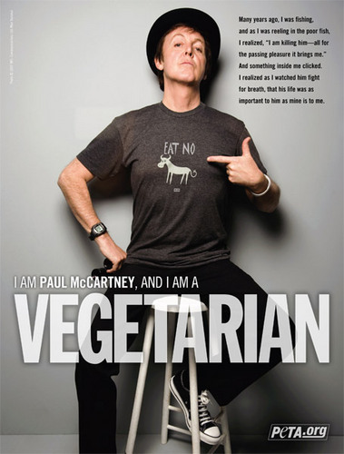 Paul McCartney - vegetarians Photo