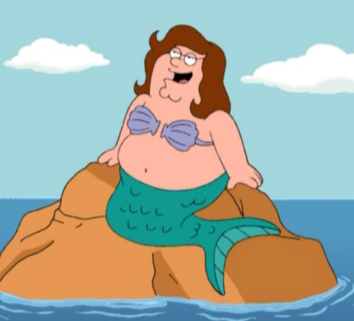 Family Guy wallpaper containing anime called Peter as a Mermaid