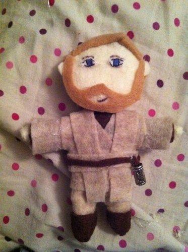 Plushie Obi Wan Kenobi