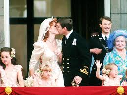 Prince Andrew and Dutchess Sarah