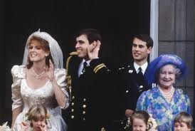 Prince Andrew and Dutchess Sarah