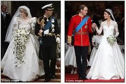 Princess Diana and Dutchess Catherine