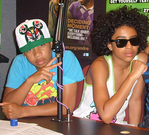Princeton and Roc Hanging out