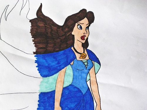 "Vanessa from ""The Little Mermaid"" Обои probably with Аниме entitled PrueFever's Vanessa Drawings"