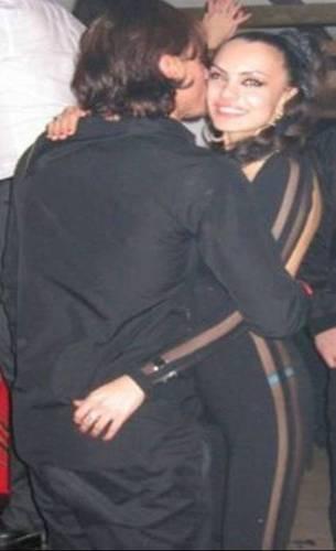 Rafa Nadal kiss