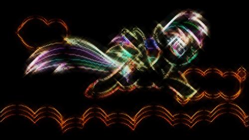 arco iris Dash fondo de pantalla