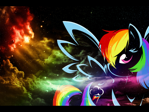 Rainbow Dash Wallpapers - my-little-pony-friendship-is-magic Wallpaper