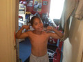 Roc with his sando off <3