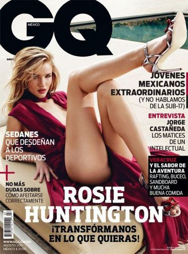 Rosie Huntington-Whiteley for GQ Mexico August 2011