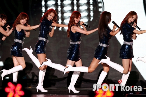 SNSD Incheon Korean সঙ্গীত Wave 2011 performance