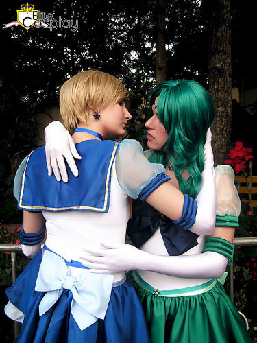 Sailor Uranus and Neptune Cosplay