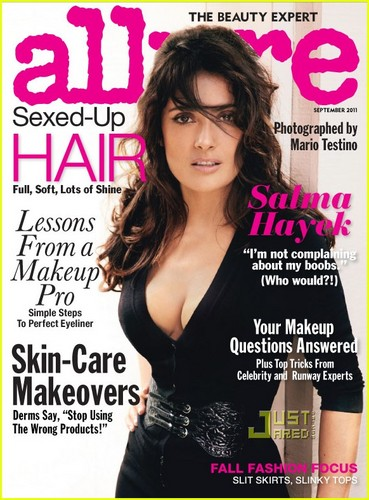 Salma Hayek Covers 'Allure' September 2011