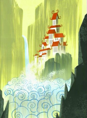 Samurai Jack kertas dinding containing a mata air, air pancut called Samurai Jack tajuk Sequence