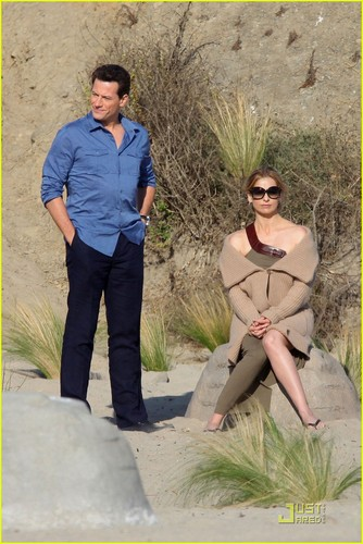 Sarah Michelle Gellar: 'Ringer' ساحل سمندر, بیچ Babe!