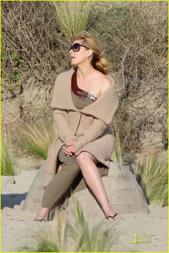 Sarah Michelle Gellar: 'Ringer' strand Babe!
