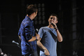 Scotty at the 2011 CMA Music Festival with Josh Turner - scotty-mccreery photo