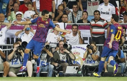 Spanish Super Cup Final: Real Madrid (2) - FC Barcelona (2) (First Leg)