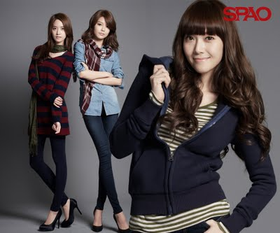 Super Generation: Super Junior & Girls' Generation wallpaper with a well dressed person and an outerwear entitled Spao 2011