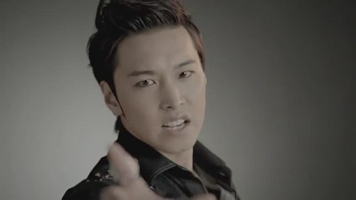 Super Junior wolpeyper with a portrait entitled Sungmin Mr. Simple MV