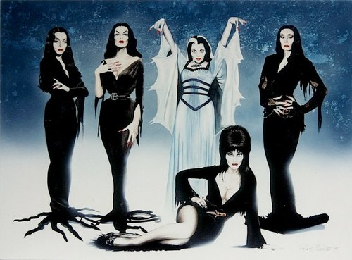 The FABULOUS ladies of goth