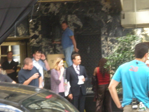 The Good Wife wallpaper probably with a street entitled The Good Wife Season 3 Set Photos
