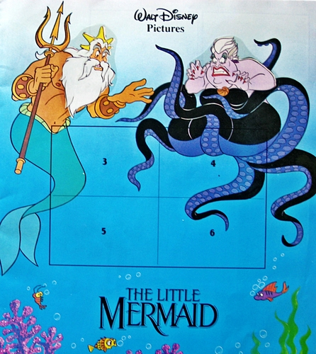 The Little Mermaid - Sticker Album