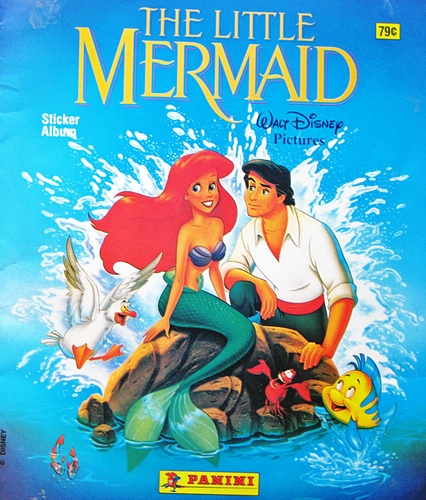 The Little Mermaid - Sticker Album