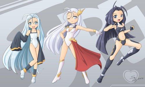 The Shadowpuff girls