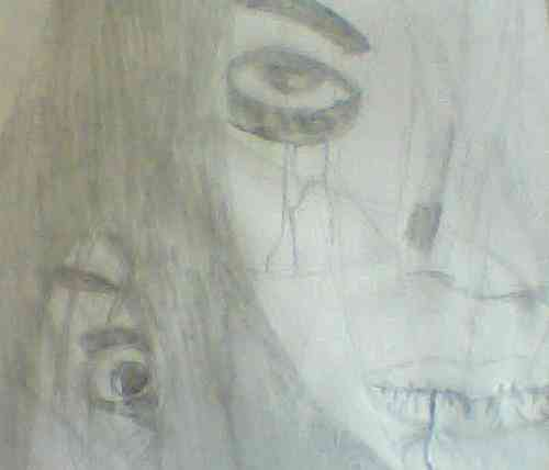The grudge drawing