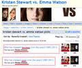 This doesn't even make sense!! - kristen-stewart-vs-emma-watson screencap