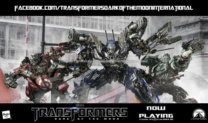 Transformers Dark Of The Moon: Wreckers - Transformers ...