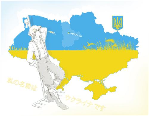 Hetalia wallpaper with anime entitled Ukrain