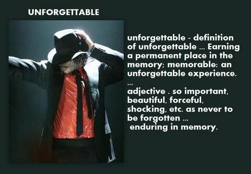 Unforgettable Michael