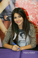 Victoria Justice: Victorious CD Signing in Duarte, CA, August 13 - victoria-justice photo