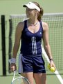 Martina Hingis plays Sleep Tennis