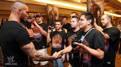 WWE '12 Press Event at SummerSlam weekend randy orton