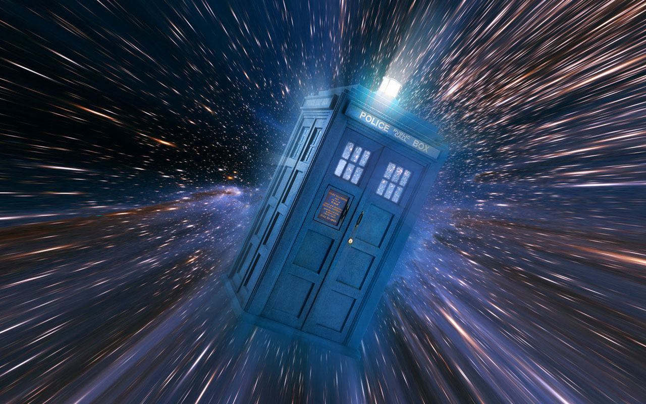 Doctor Who TARDIS Space
